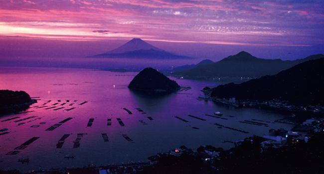 内浦からの夕景