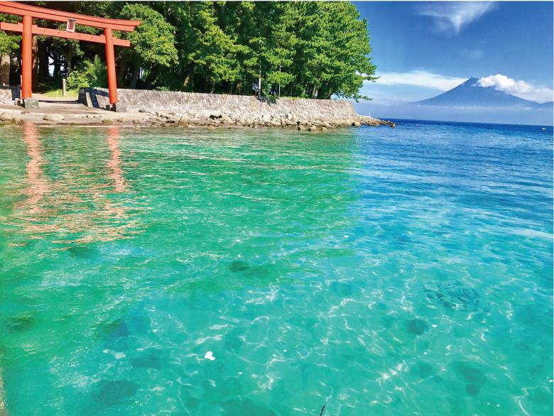 戸田と富士山